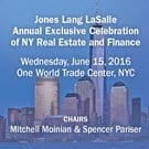 AFRCM JLL Celebration of NY Real Estate and Finance