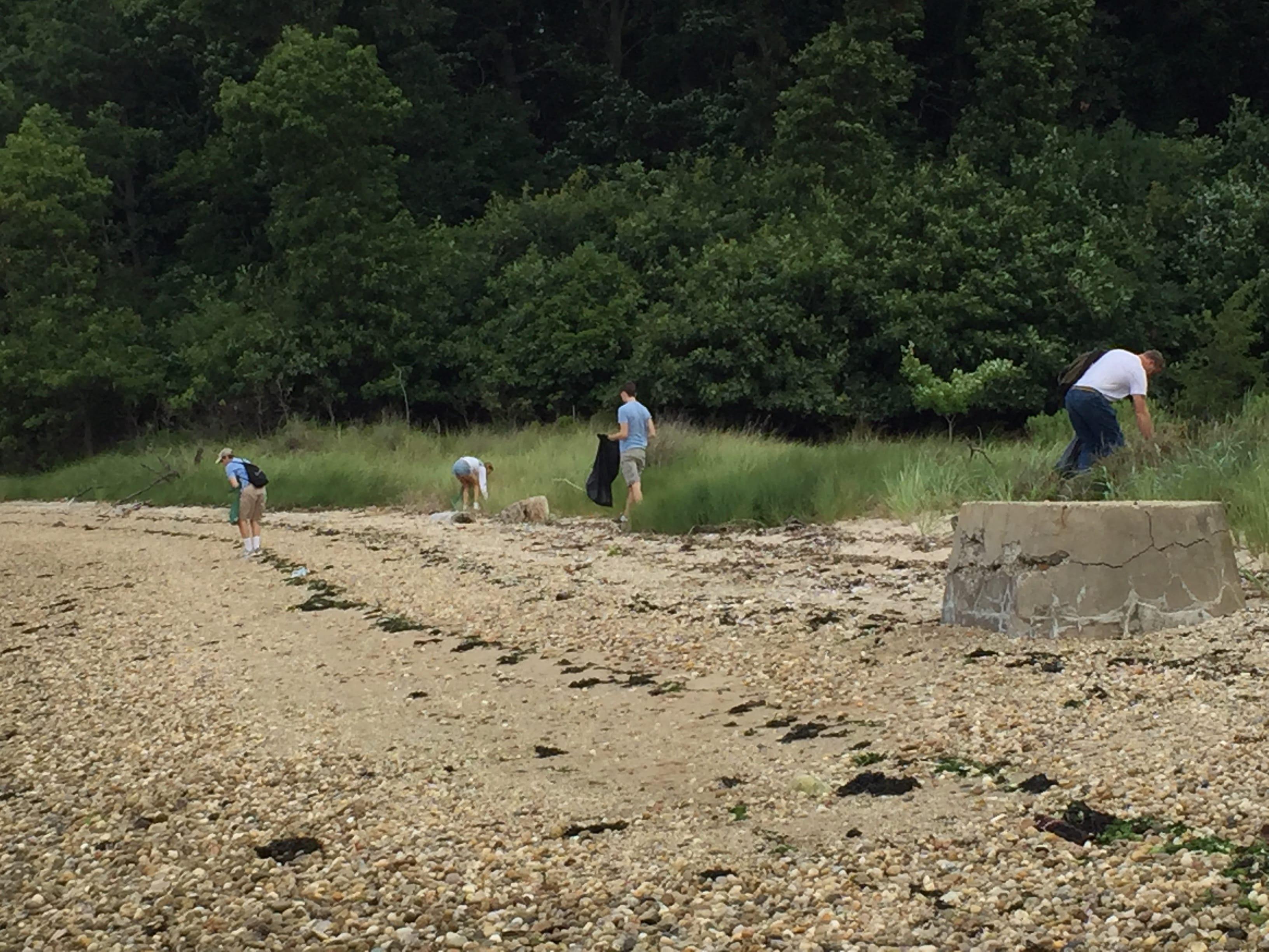 CSR-Coastal Steward Cleanup