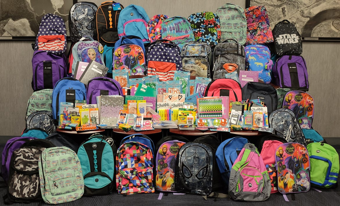 Long Island Head Start Backpack Drive