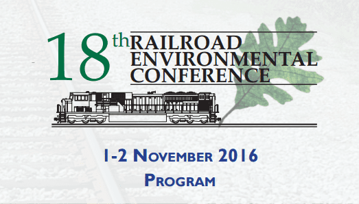 18th Railroad Environmental Conference