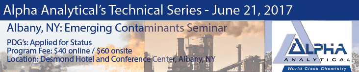 Alpha Analytical's Technical Series