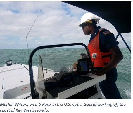 Marlon Wilson U.S. Coast Guard