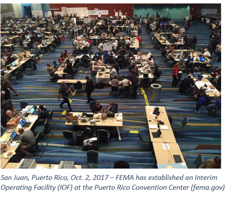 FEMA Puerto Rico Convention Center