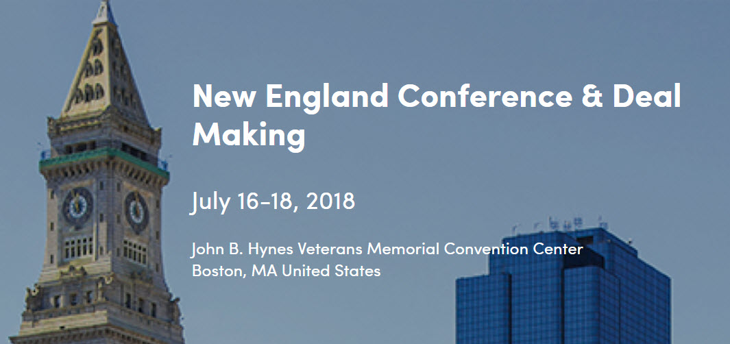 ICSC New England Conference & Deal Making