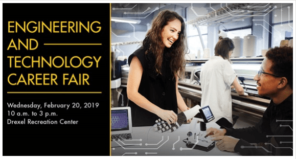 Drexel University Engineering and Technology Career Fair