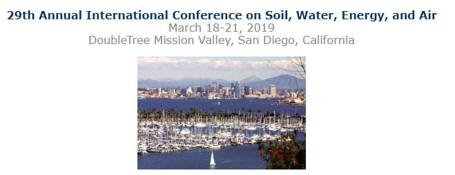 29th Annual International Conference on Soil, Water, Energy, and Air
