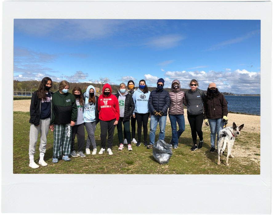 Roux Oyster Bay Beach Cleanup